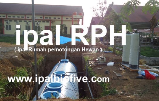 IPAL Pengolahan Air Limbah Rumah Potong Hewan