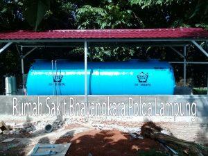 IPAL BIOFIVE RS Bhayangkara Lampung