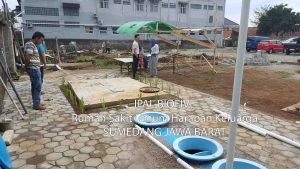 ipal biofive RS harapan keluarga Sumedang Jawa Barat
