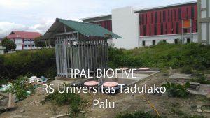 Ipal Rumah Sakit Universitas Tadulako Sulawesi Tengah
